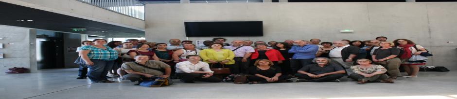 Les membres du Lisec présents à la journée du 27/6/014
